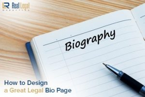 How to Design a Great Legal Bio Page