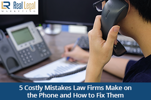 Costly Mistakes Law Firms